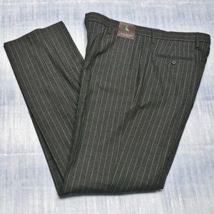 TailorByrd 34 W Trousers Mens Wool Blend Slacks